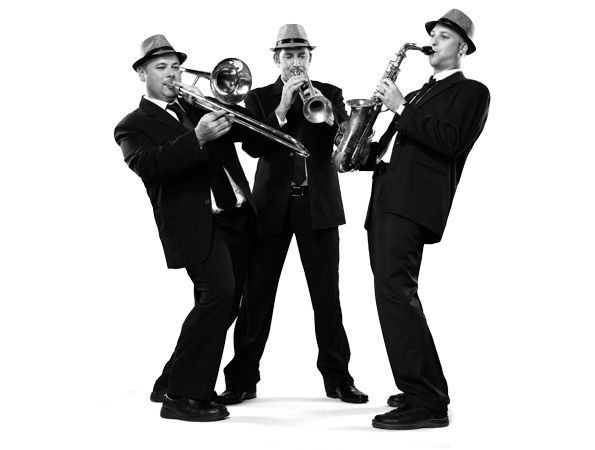 Live Cover Band - Brass Section